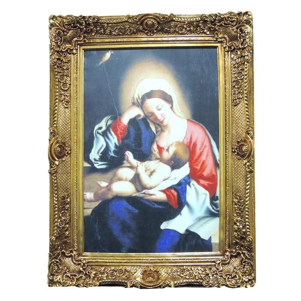 Quadro Clássico - Madonna Con Il Bambino, Giovanni Battista Salvi Da Sassoferrato