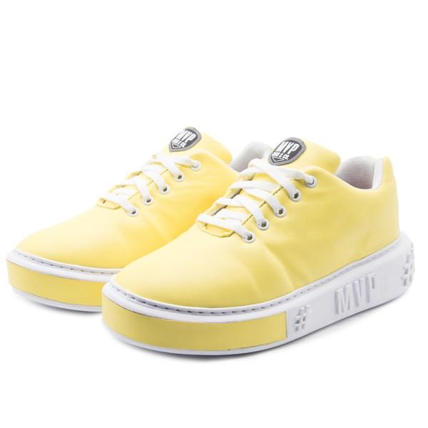 Tênis MVP Look Fashion - Amarelo Fluor