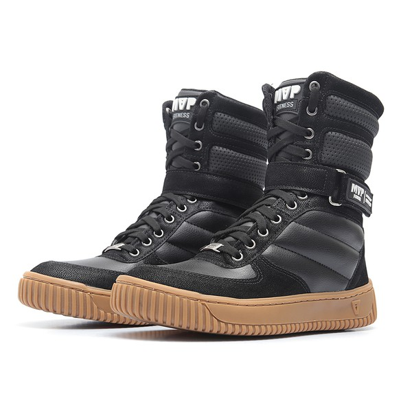Tênis MVP Boot Fashion - Preto Caramelo
