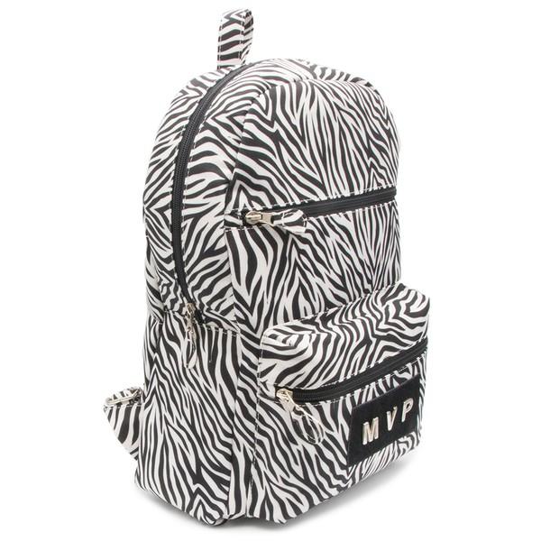 Mochila Club Fashion -Zebra White