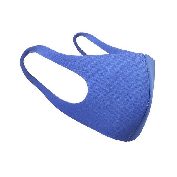 Kit com 10 Máscaras de Proteção Lavável e Reutilizável Azul