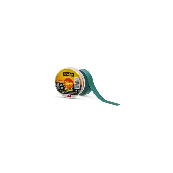 Fita Isolante Scotch 35+ Verde 19 mm x 20 m - 3M