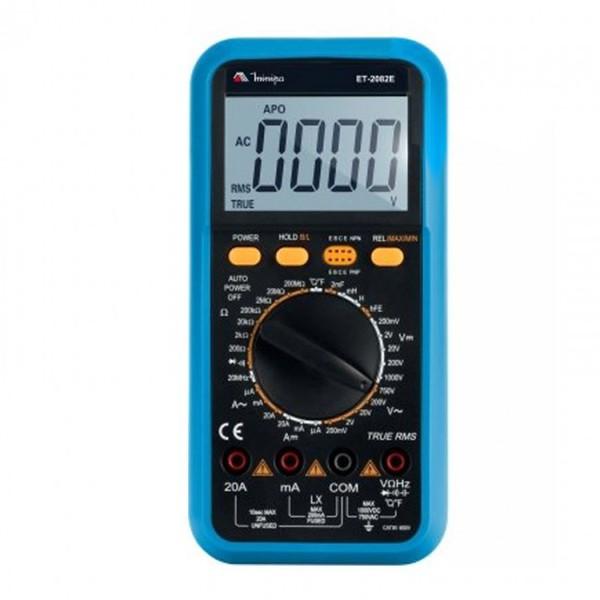 Multímetro Digital ET-2082E - Minipa