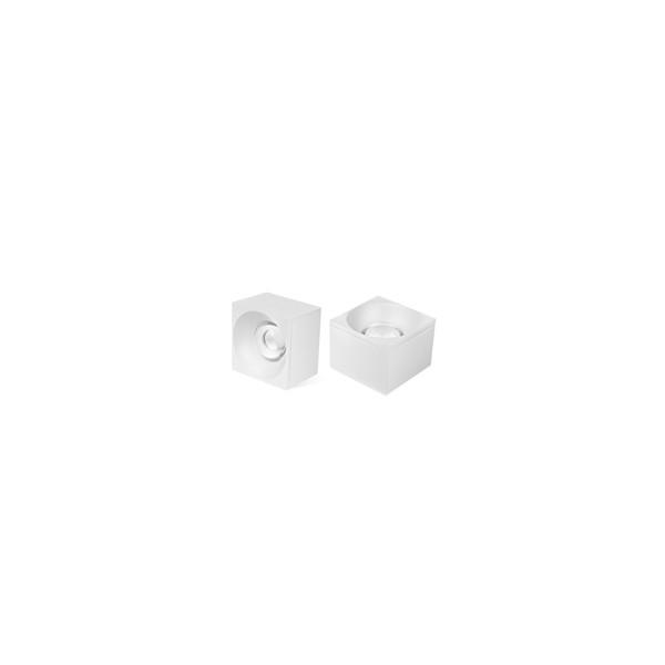 Spot Sobrepor LED Quadrado Branco Delis