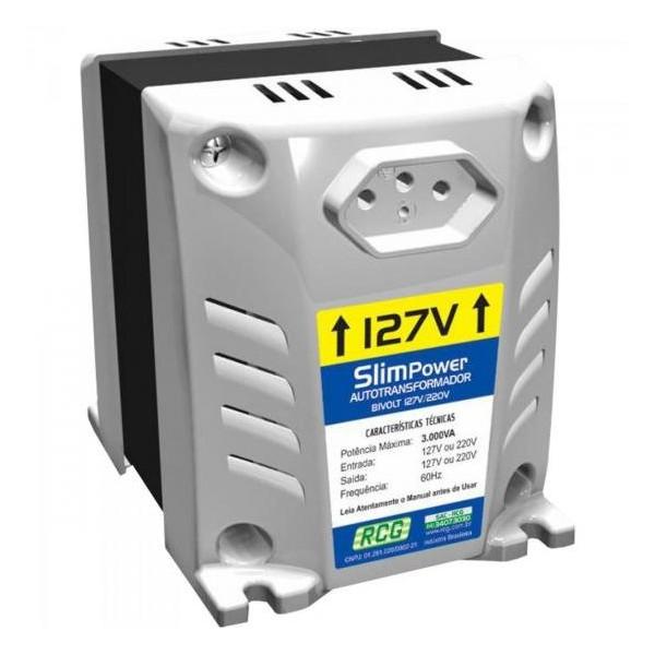 Transformador de Voltagem Slim Power 3000VA