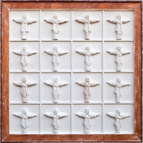 Quadro Colmeia de Cristos