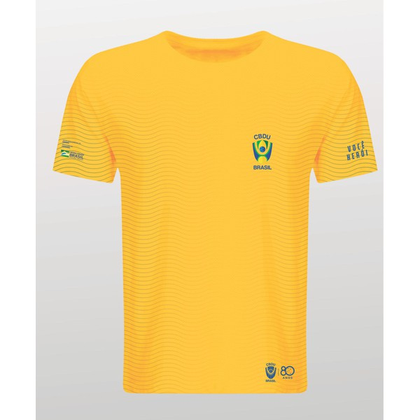 Camisa Gola Redonda CBDU Amarela