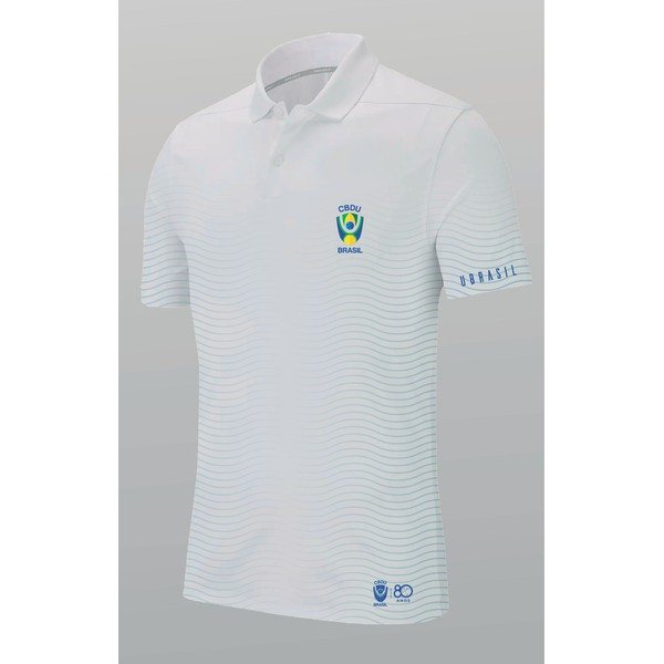 Camisa Polo Cbdu Branca 19