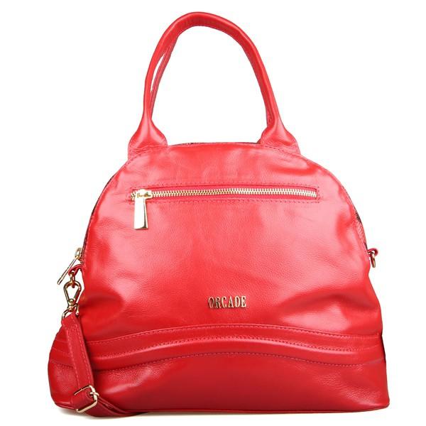 Shoulder Bag Classic em Couro Vermelha