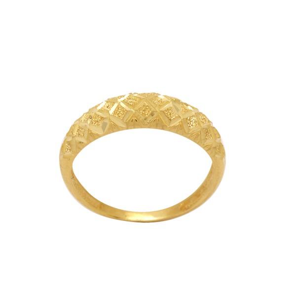 Anel Diamantado Ouro 18K