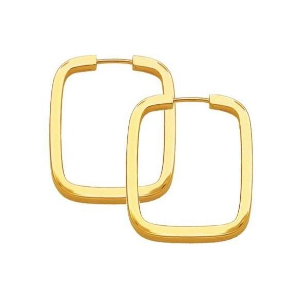 Brinco Argola em Ouro 18k