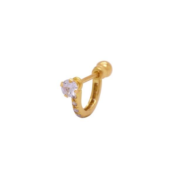 Piercing de Orelha em Ouro 18k