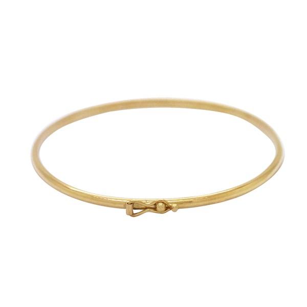 Bracelete Fio Abaulado Ouro 18k