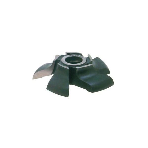 Fresa Para Rodapés Boleados Tipo Peito de Rola D:125 Z: 6 em Aço (15.04)