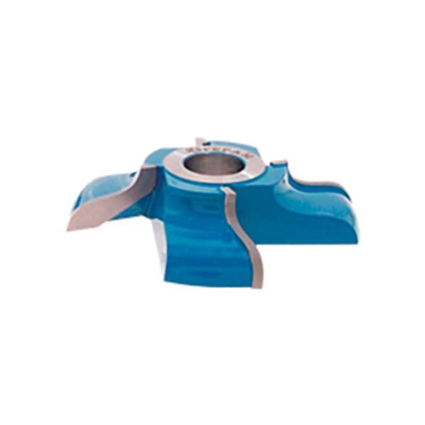 Fresa Para Rodapés Boleados Tipo Peito de Rola D:125 Z: 6 em Aço (15.02)