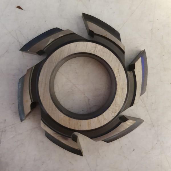 Fresa para molduras 72mm X 12mm 6 Asas Aço Fepam