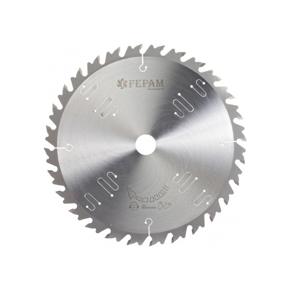 Disco de serra circular 300 mm X 28 dentes F.30 ED /AV-BR Fepam
