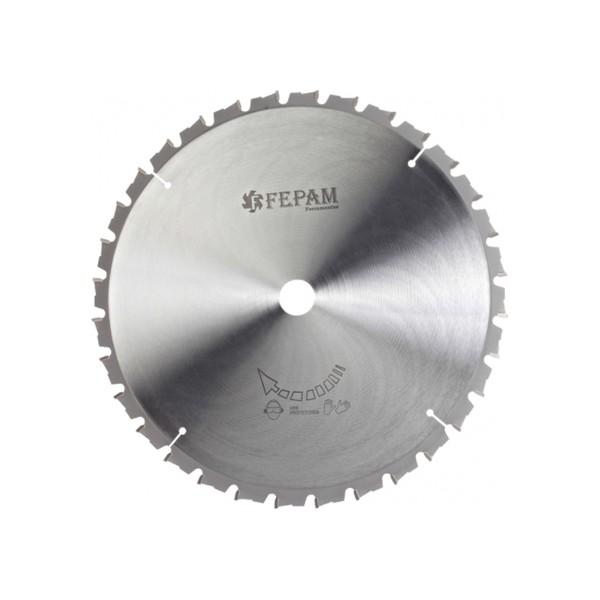 Disco de serra circular 305x60Z ED(-) F.25,4 Fepam