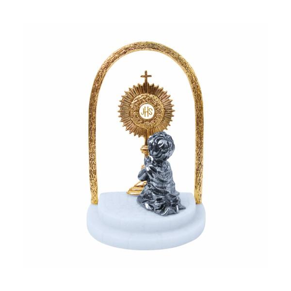 Kit Primeira Eucaristia com Ostensório Resina