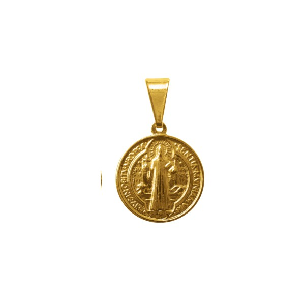 Medalha Folhada à Ouro São Bento