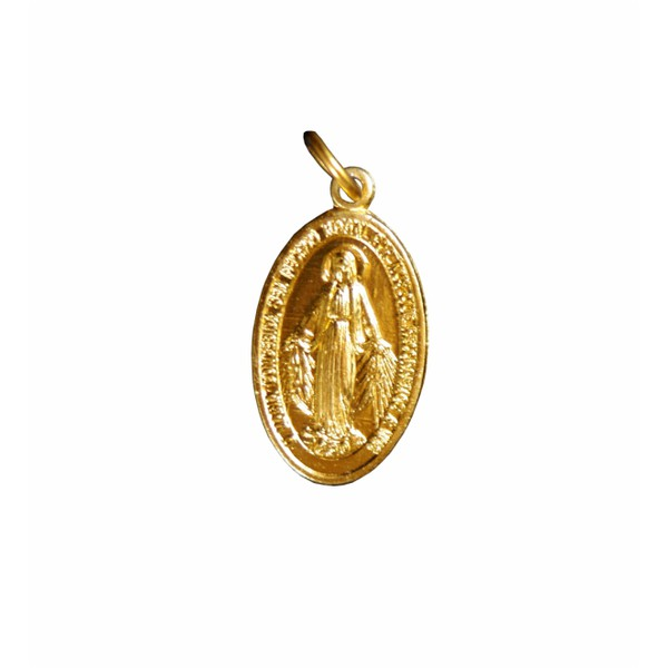 Medalha Milagrosa Dourada Média