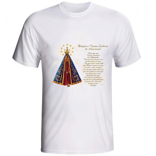 Camiseta Nossa Senhora Aparecida com Oração