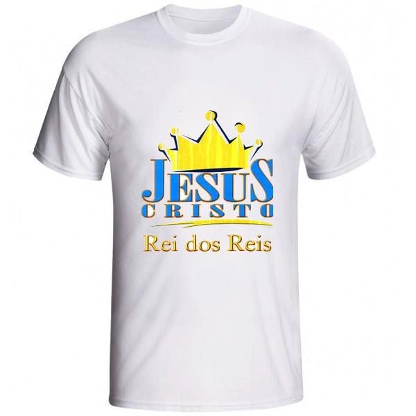 Camiseta Jesus Cristo Rei dos Reis