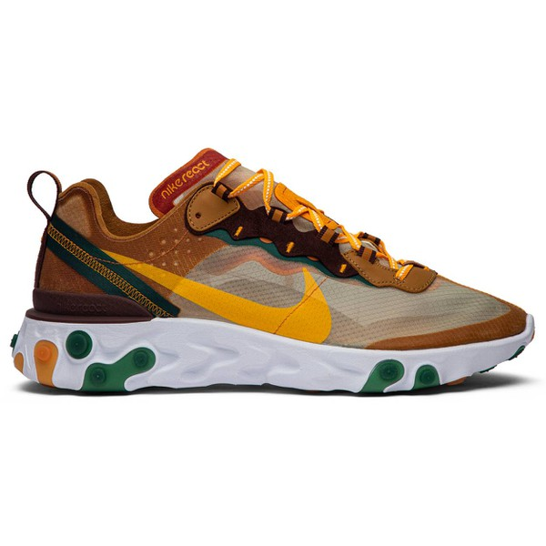 TÊNIS NIKE REACT ELEMENT 87 ORANGE PEEL