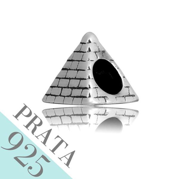Pingente Pirâmide Memories Prata 925