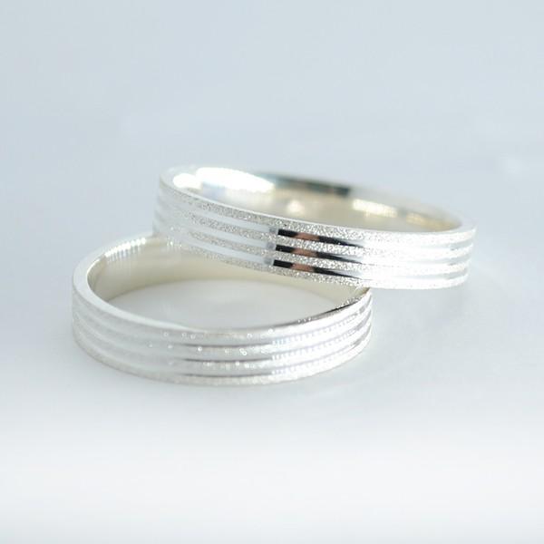 Aliança frisos diamantados 5mm