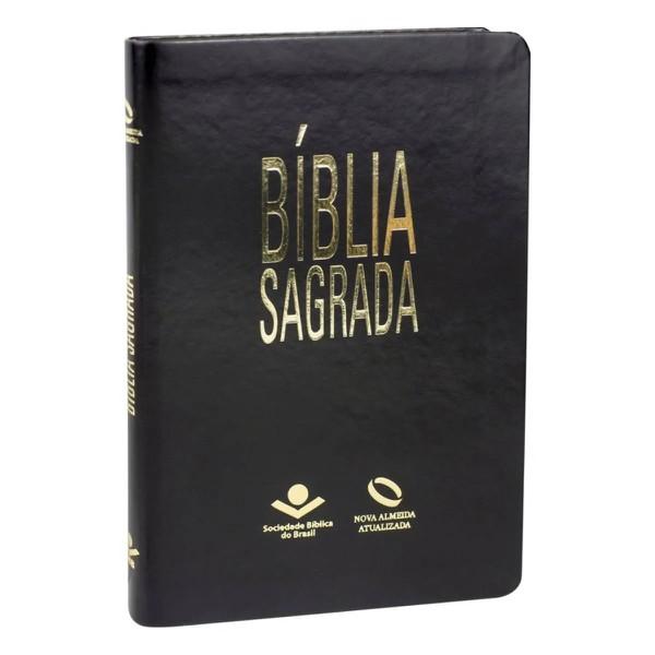 Bíblia sagrada Slim - Preta