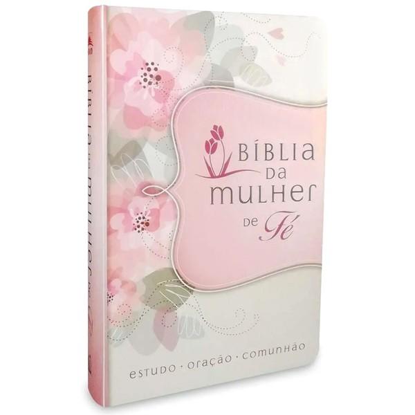 BÍBLIA DA MULHER DE FÉ - LUXO FLORES