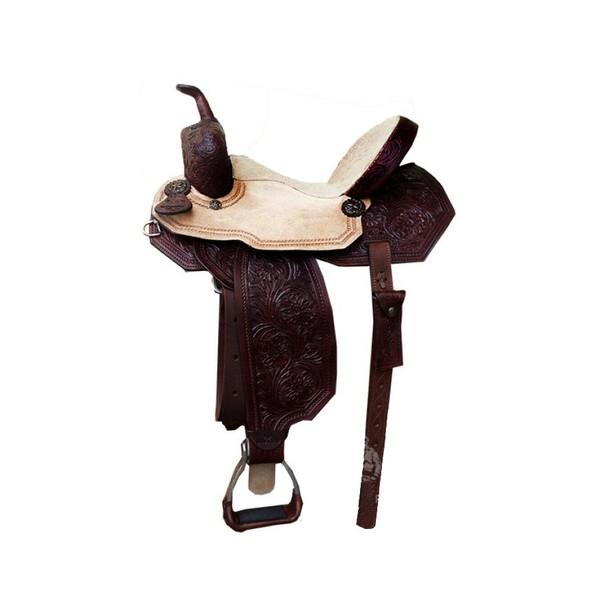 Sela de Couro Tambor - 04 Forma Protec Horse