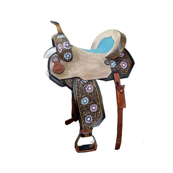 Sela de Couro Tambor - 07 Forma Protec Horse