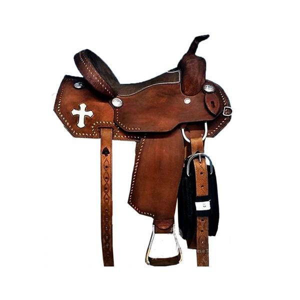 Sela de Couro Tambor - 15 Forma Protec Horse