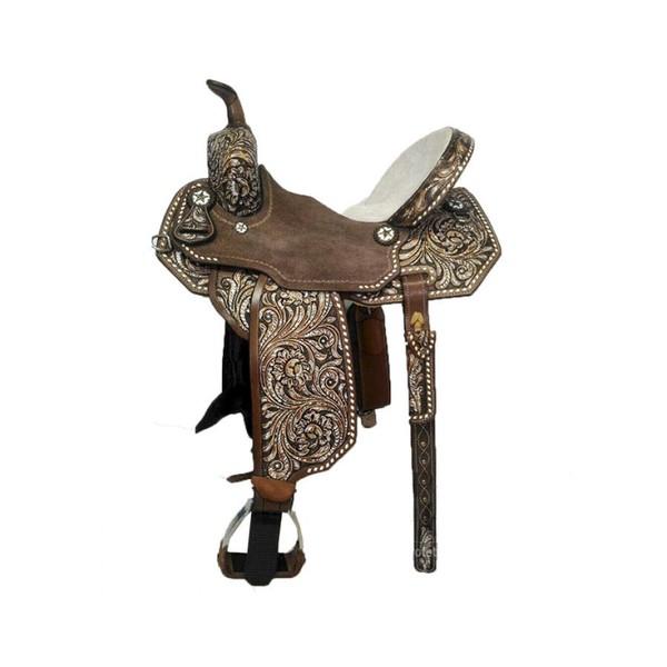 Sela de Couro Tambor - 26 Forma Protec Horse