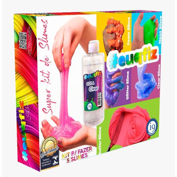 Brinquedo Super Kit de Slimes #EUQFIZ