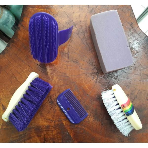 Kit Higiene e Escovas Partrade 01 - Lilás