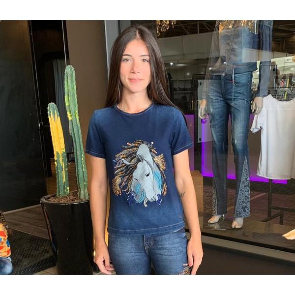 Camiseta Cutter Jeans - Brasita