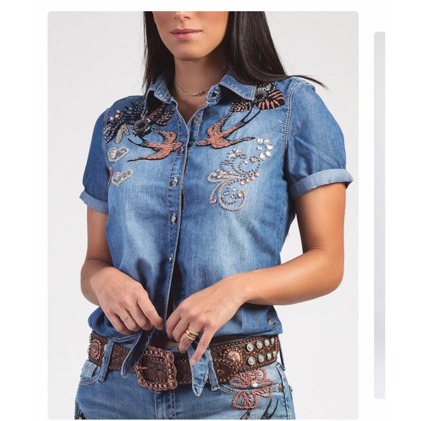 Camisa Cutter Jeans - Keys
