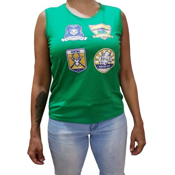 Camiseta regata selos - Olena