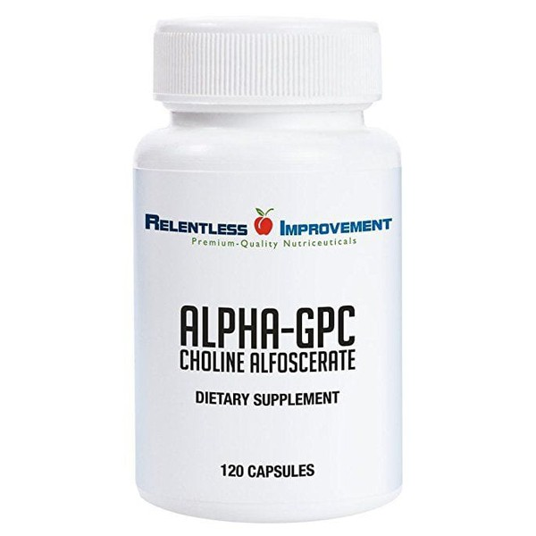 Alpha GPC - Relentless Improvement - 300mg - 120 capsulas