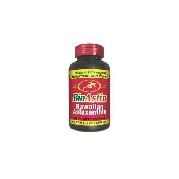 Astaxantina Natural - BioAstin, Nutrex - 4 mg, 120 Gel Caps
