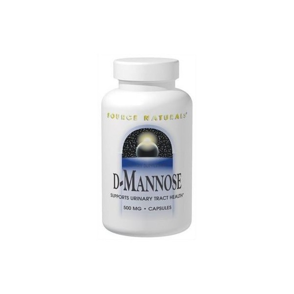 D-Mannose - Source Naturals - 500 mg - 120 Capsules