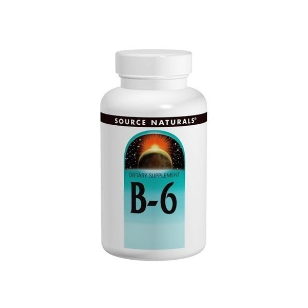 B-6 - Source Naturals - 50 mg - 250 Tablets