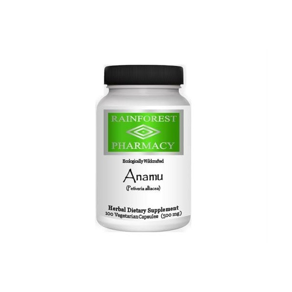 Anamu - Rainforest Pharmacy - 500 mg - 100 cápsulas