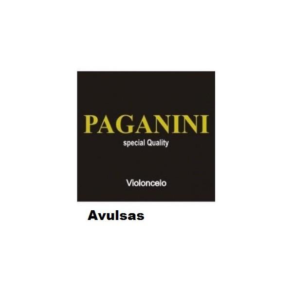 Cordas Avulsas Para Violoncelo Paganini