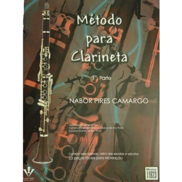 Método Para Clarinete Nabor Pires Camargo