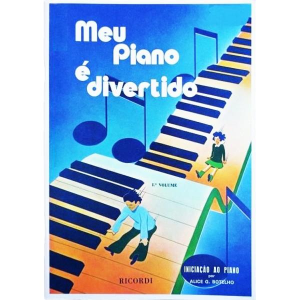 Método Para Piano Meu Piano É Divertido