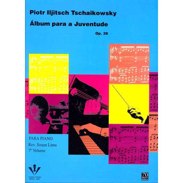 Método Para Piano Tschaikowsky - Álbum para a Juventude
